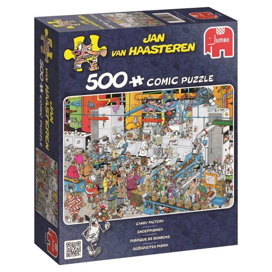 Candy Factory -  Jan van Haasteren - puzzle de 500 pièces-3