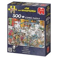 thumb-Candy Factory -  Jan van Haasteren - puzzle de 500 pièces-1