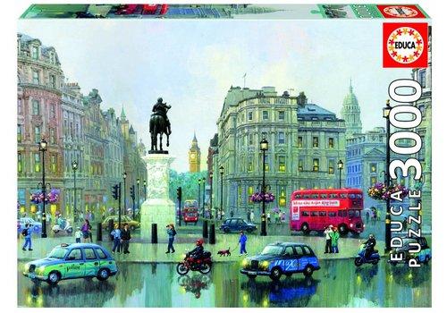 Rondpunt in Londen - 3000 stukjes