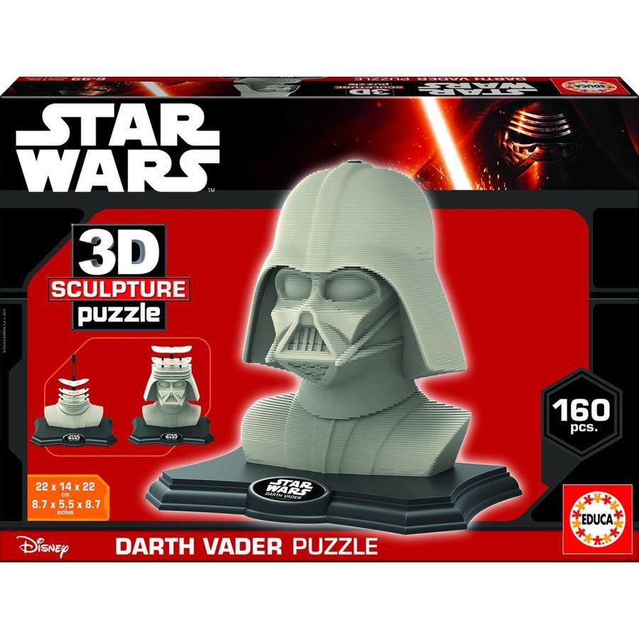 Star Wars - Darth Vader - 3D puzzle-2