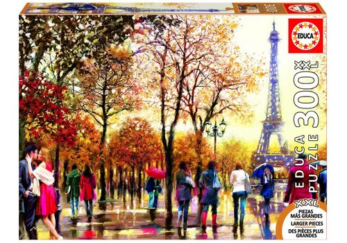 Eiffeltoren in de herfst - 300XXL stukjes