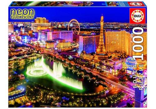Educa Las Vegas - Glow in the Dark - 1000 pièces