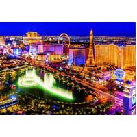 thumb-Las Vegas - Glow in the Dark - 1000 stukjes-2