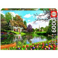 thumb-Cottage in the spring - 6000 pieces-1