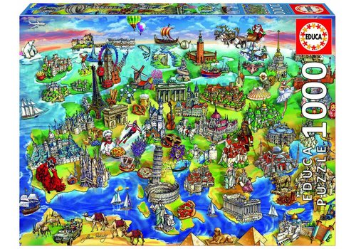 Symbols of Europe - 1000 pieces
