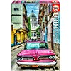 Educa Oldtimer in Havana - puzzel van 1000 stukjes