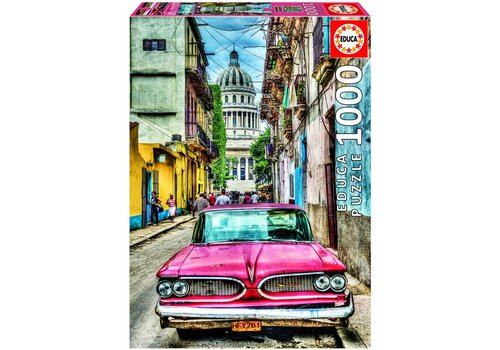Educa Oldtimer in Havana - 1000 pieces