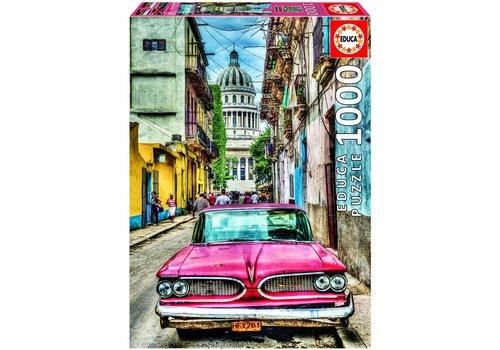 Educa Oldtimer in Havana - 1000 stukjes