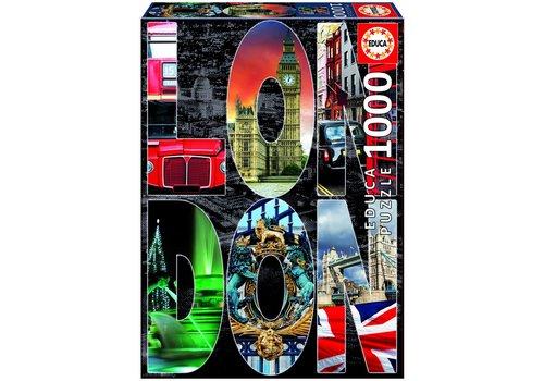 Collage van Londen - 1000 stukjes