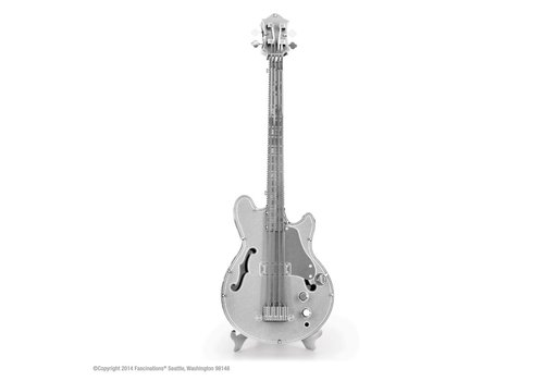 Electric Bass Guitar - 3D puzzle