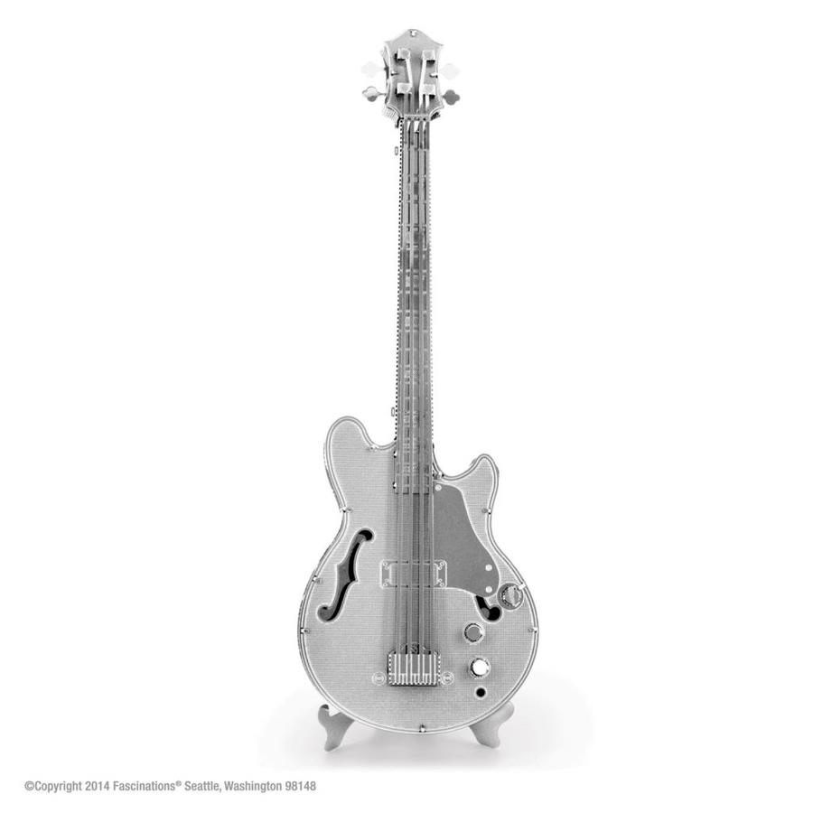 Electric Bass Guitar - puzzle 3D-1