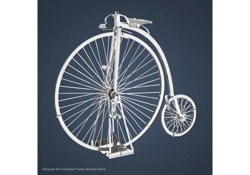 Highwheel Bicycle - 3D puzzle