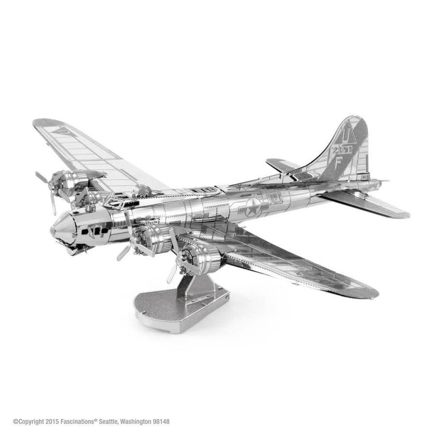 B-17 Flying Fortress - puzzle 3D-1