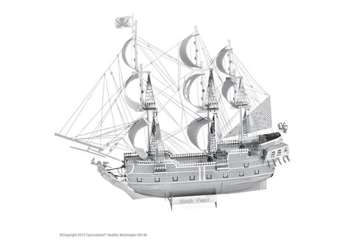 Black Pearl - Pirate Ship - Iconx 3D