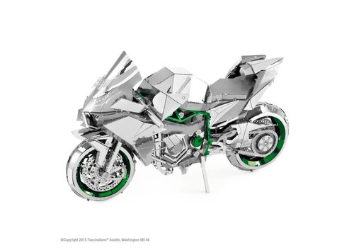 Kawasaki Ninja H2R - Iconx puzzle 3D