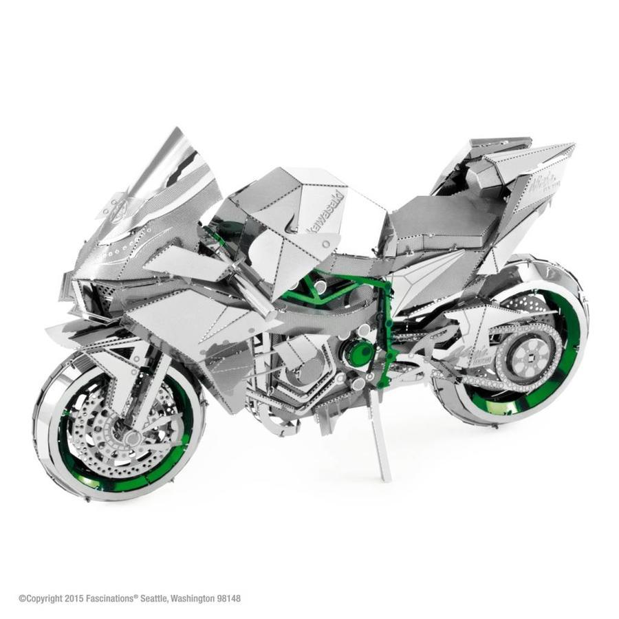 Kawasaki Ninja H2R - Iconx 3D puzzel-1