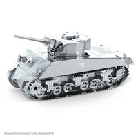 Sherman Tank - puzzle 3D