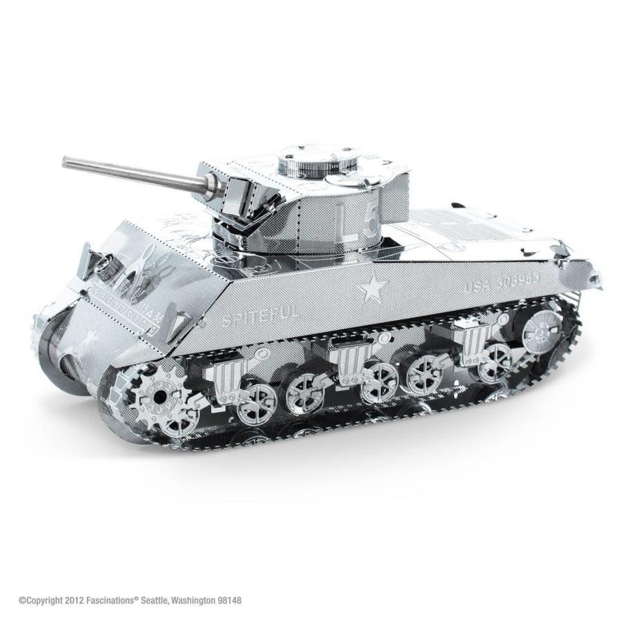 Sherman Tank - puzzle 3D-1