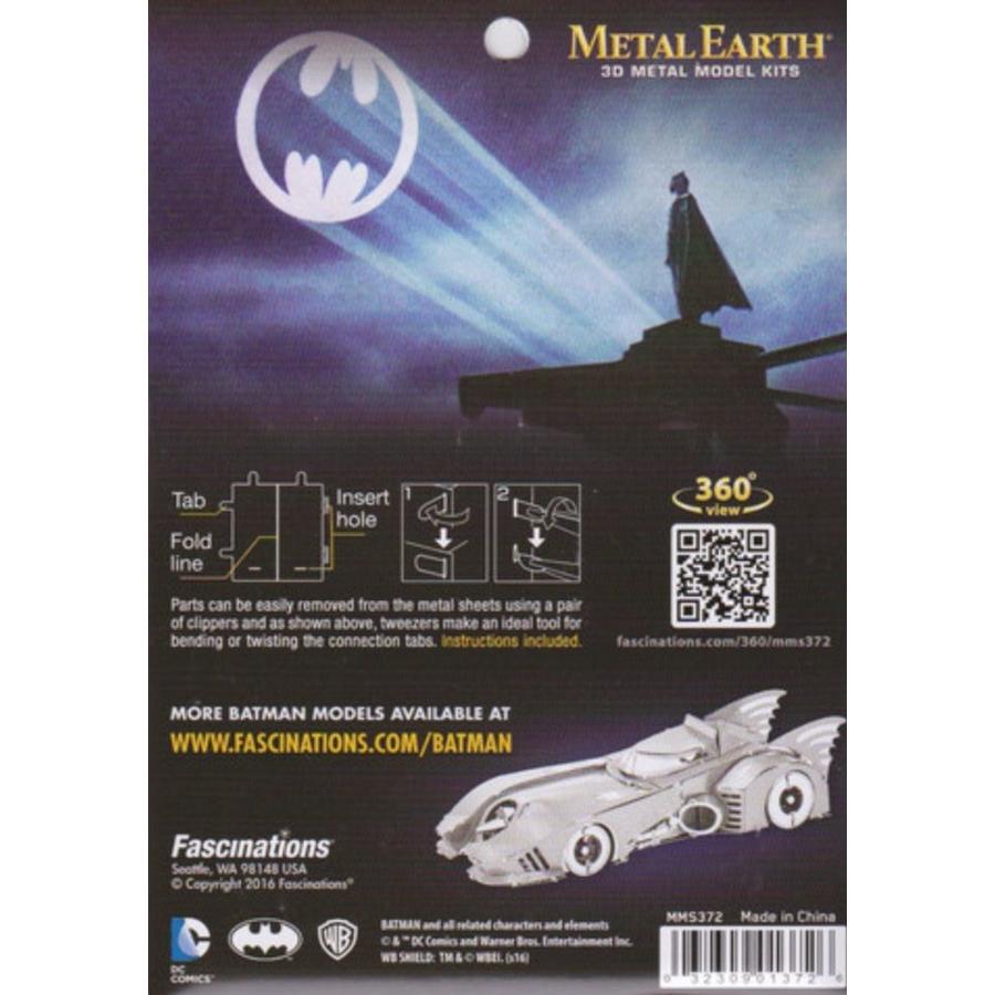 Batman 1989 Batmobile - 3D puzzel-3