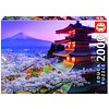 Educa De Fuji vulkaan in Japan - puzzel 2000 stukjes