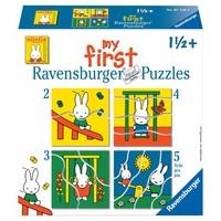 thumb-Nijntje - Puzzels 2, 3, 4 en 5 stukjes-1