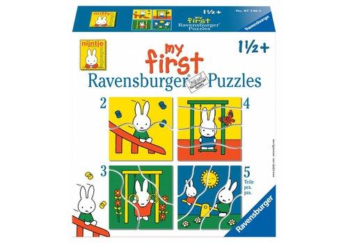 Ravensburger Miffy - Puzzles 2, 3, 4 et 5 pièces