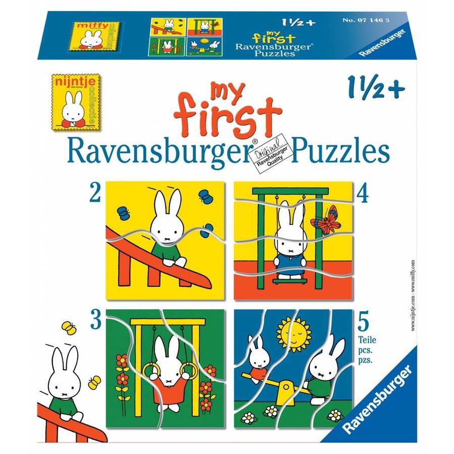 Miffy - Puzzles 2, 3, 4 et 5 pièces-1