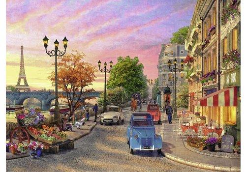 Avondsfeer in Parijs - 500 stukjes
