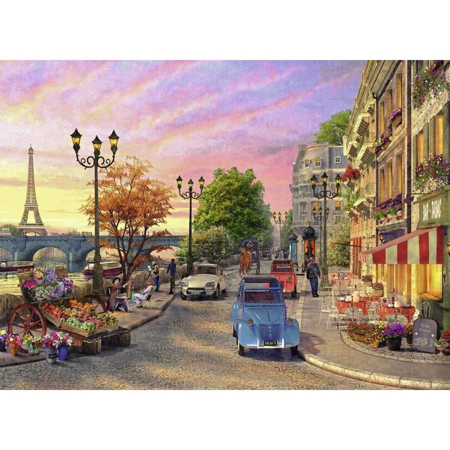 Ambiance de soirée à Paris - puzzle de 500 pièces-1