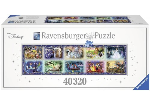 Puzzle of 40.000 pieces: Disney