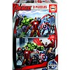 Educa Avengers - 2 puzzels van 100 stukjes