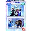 Educa Frozen - 2 puzzles de 100 pièces