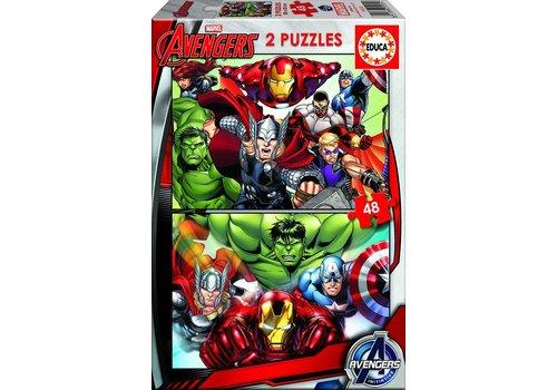 Educa Avengers - 2 x 48 pièces
