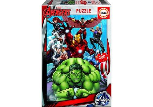 Avengers - puzzel van 200 stukjes
