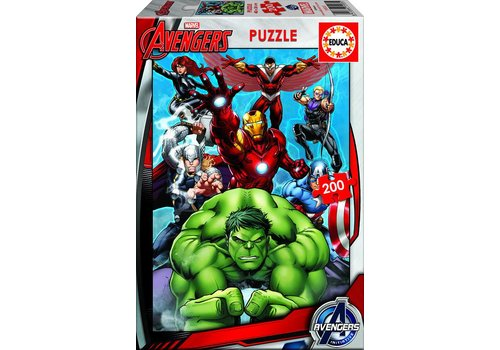 Avengers - puzzle of 200 pieces