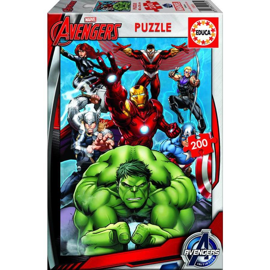 Avengers - puzzel van 200 stukjes-1