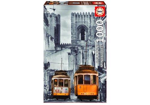Miniatuur puzzel - Lissabon - 1000 stukjes