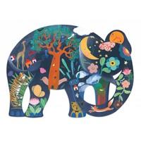 thumb-De ongelooflijke olifant - 150 stukjes-1