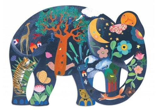 Djeco The incredible elephant - 150 pieces