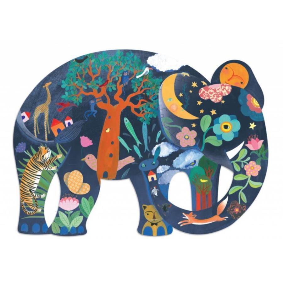 De ongelooflijke olifant - 150 stukjes-1