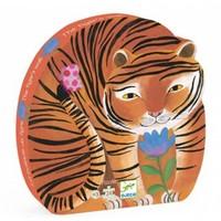 thumb-De stoere tijger - 24 stukjes-1