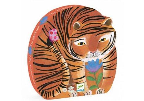 Djeco The tough tiger-24 pieces