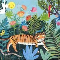 thumb-De stoere tijger - 24 stukjes-2