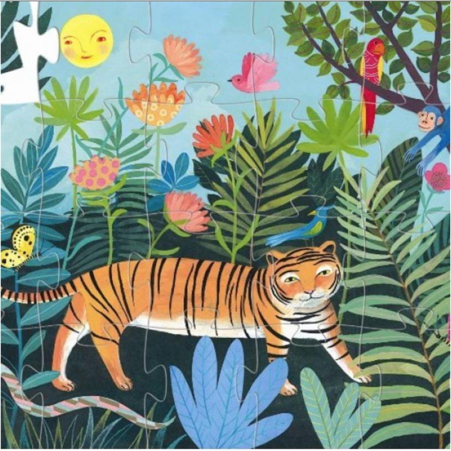 Le tigre dur - 24 pièces-2