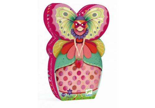 Carnival with the butterfly dam - 36 pieces