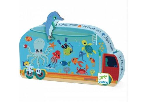 Djeco The aquarium - 16 pieces
