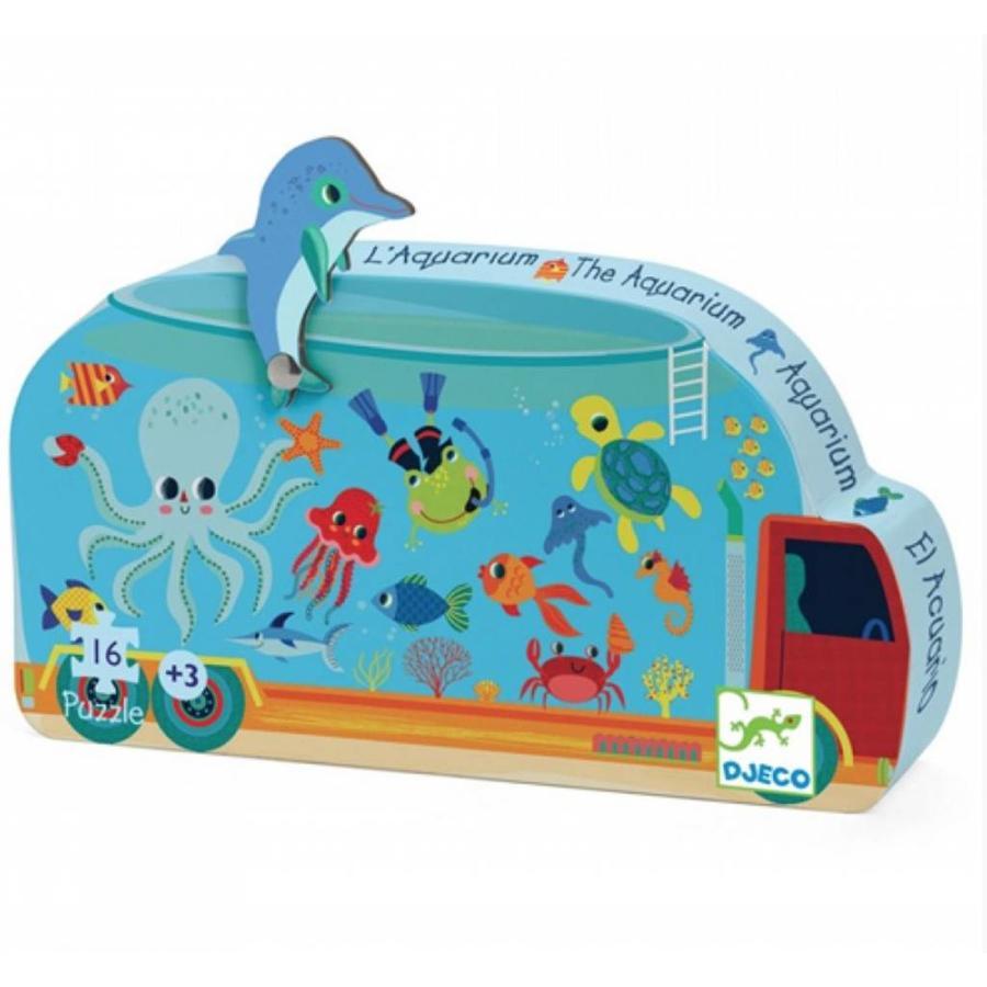 Het aquarium - 16 stukjes-1