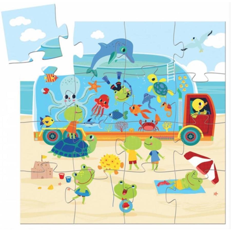 Het aquarium - 16 stukjes-2