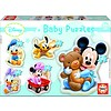 Educa Baby Mickey - 3, 4 and 5 pieces