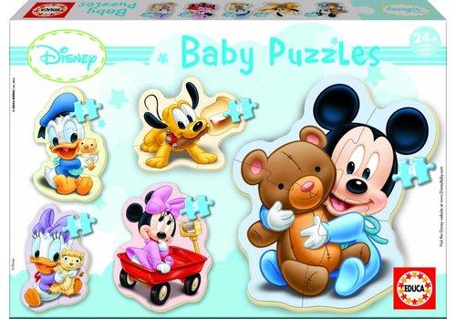 Educa Bébé Mickey - 3, 4 et 5 pièces